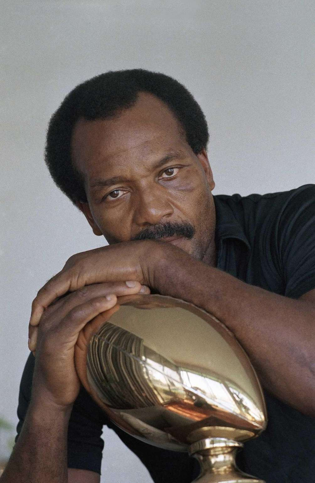 Football star turned actor Jim Brown grew up