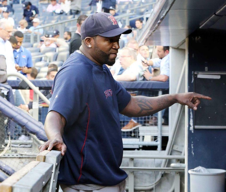 David Ortiz of the Boston Red Sox talks