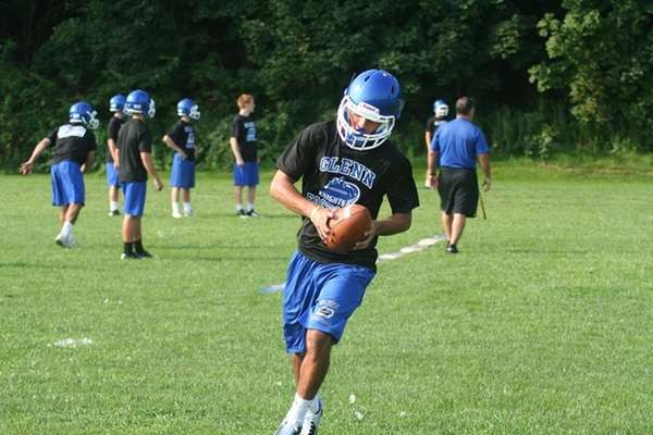 Glenn wide receiver Mike Tufano hopes to grab