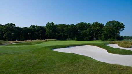 No. 12 hole at Bethpage Black golf course,
