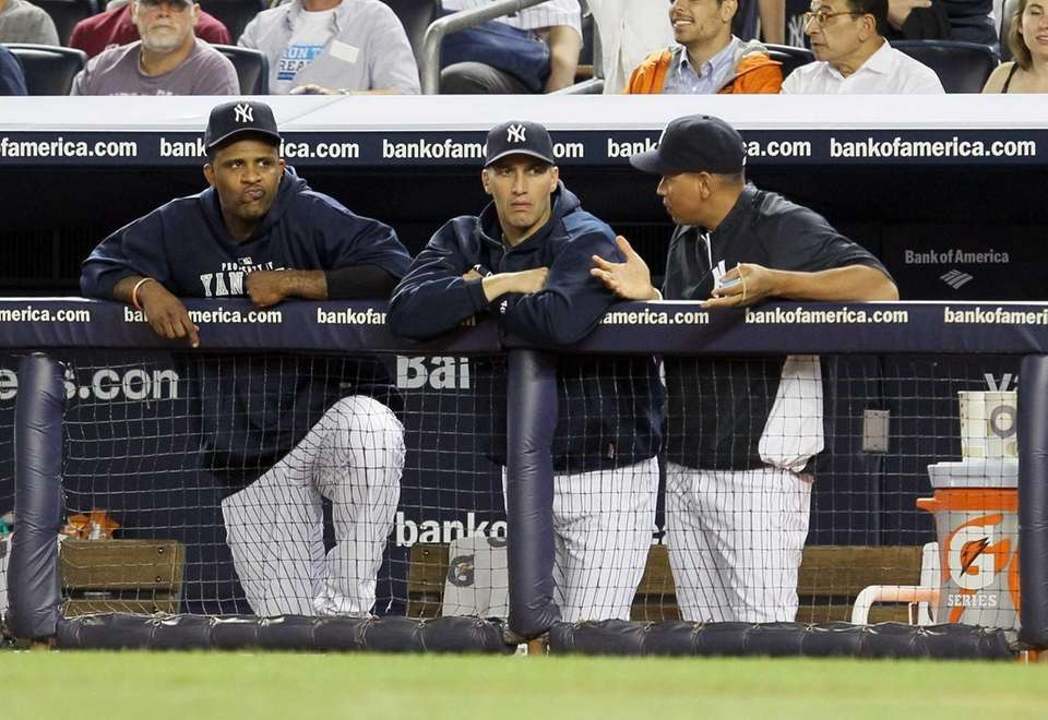 Injured Yankees CC Sabathia, Andy Pettitte and Alex