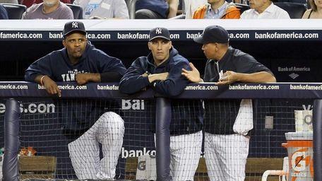 Injured Yankees CC Sabathia, Andy Pettitte and Alex
