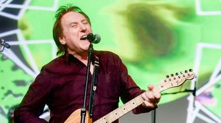 Guitarist-vocalist Denny Laine, formerly of the Moody Blues