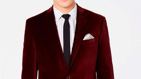 Wine time: Upgrade a standard suit jacket with