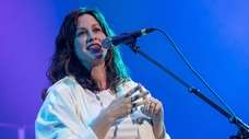 Alanis Morissette performs onstage on May 10 in