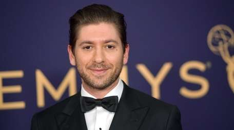 Michael Zegen attends the 71st Emmy Awards at