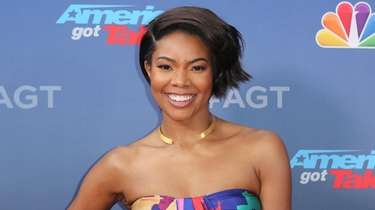 "Gabrielle Union at the ""America's Got Talent"" season"