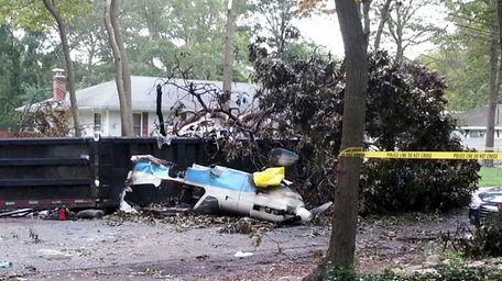 The crash of this single-engine plane Aug. 19