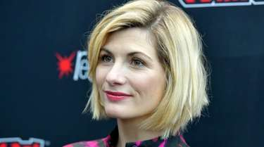 Jodie Whittaker at the New York Comic Con
