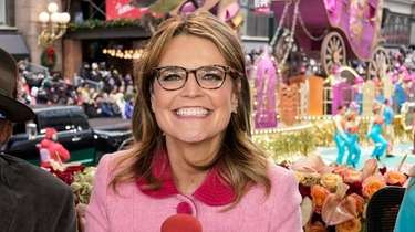 Savannah Guthrie at the 93rd Macy's Thanksgiving Day