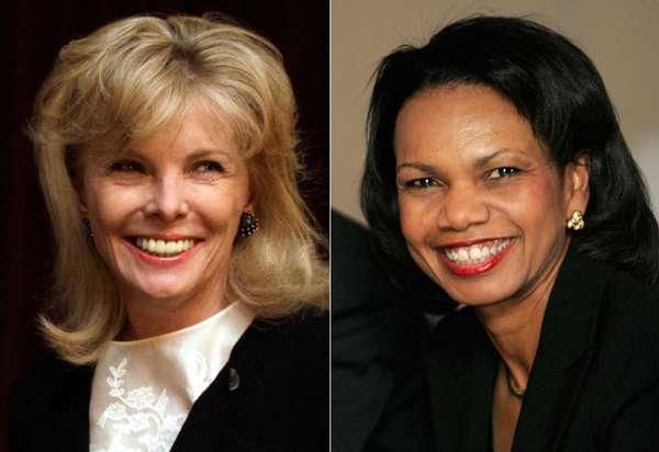 South Carolina financier Darla Moore and former Secretary