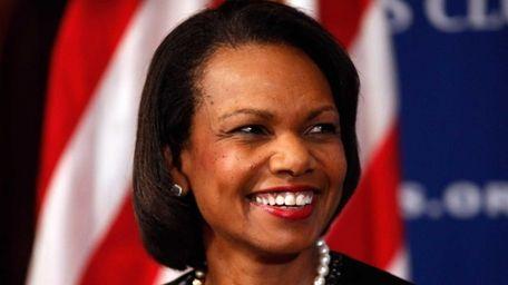 Former Secretary of State Condoleezza Rice talks about