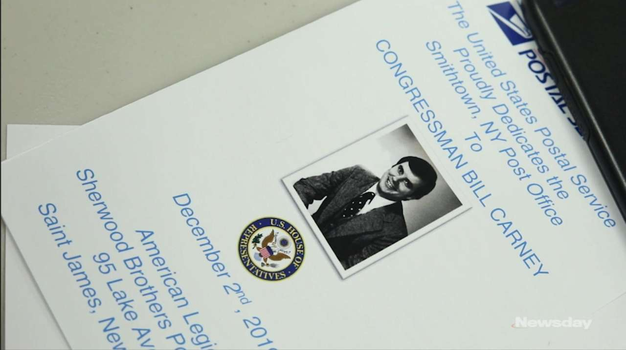 The Smithtown Post Office was dedicated on Monday