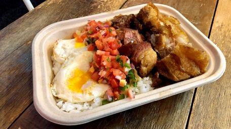Among the Filipino dishes at La Mesa in