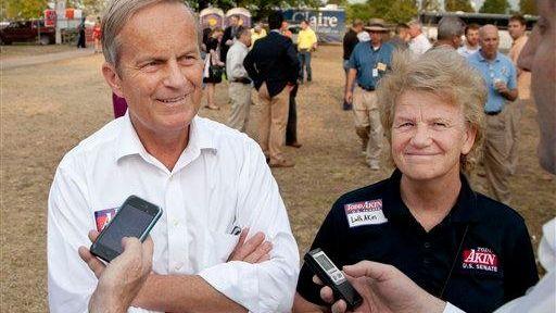 Rep. Todd Akin, R-Mo. and his wife Lulli