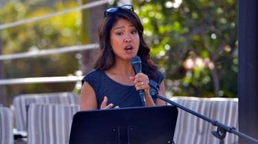 Columnist Michelle Malkin speaks at the International Innovators