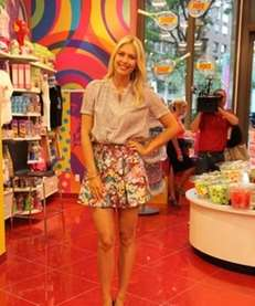 Tennis star Maria Sharapova launched her new line