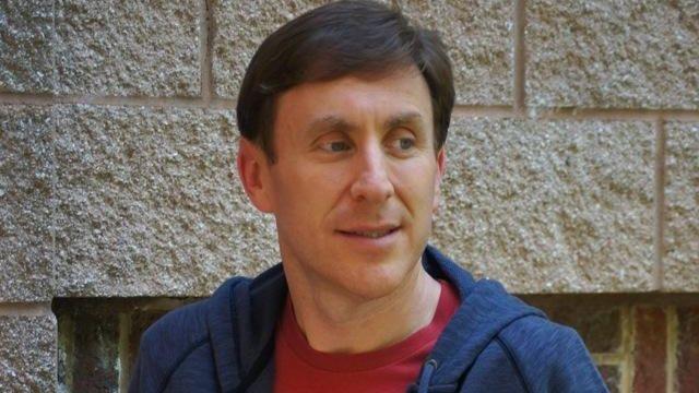 Jonathan Tropper reads in Port Washington on Monday,
