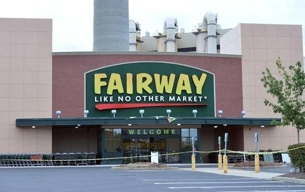 The exterior of the new Fairway Market in
