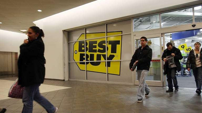 Best Buy says Tuesday, Aug. 22, 2012, that