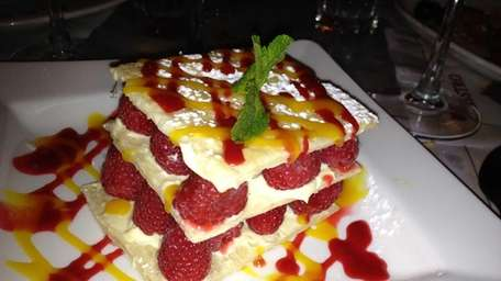 Berry napoleon at Cassis in Huntington. (Aug. 2012)
