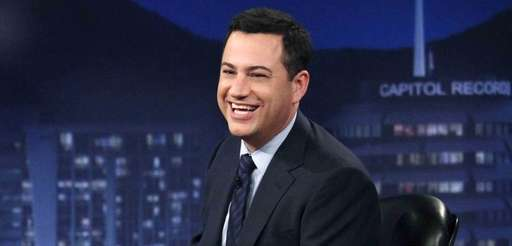 """Jimmy Kimme hosts his late-night show """"Jimmy Kimmel"""