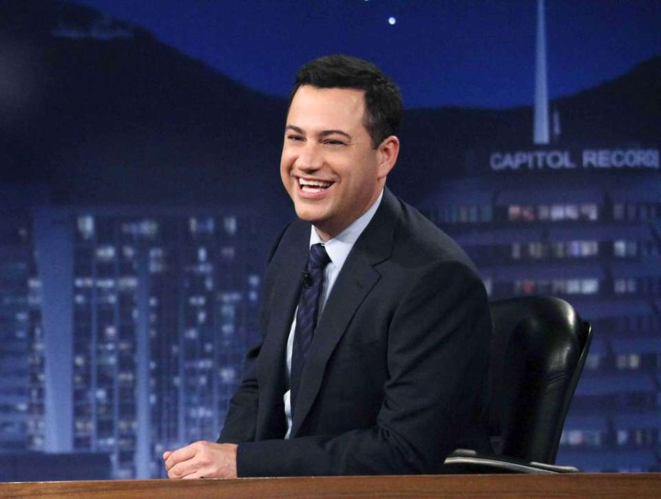 Jimmy Kimmel began hosting his late-night show,