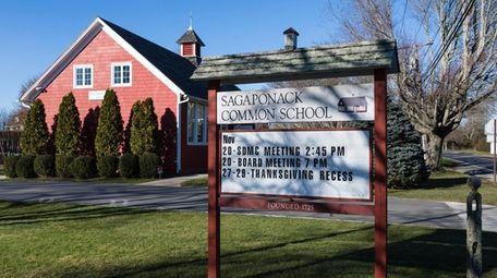 The Sagaponack Common School, at 400 Sagg Main