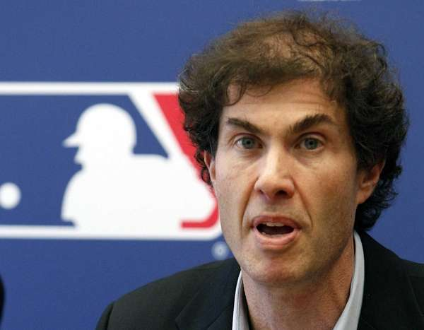 MLB players union head Michael Weiner speaks at