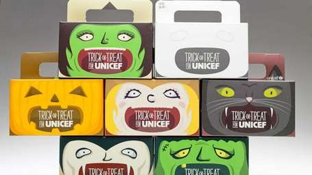 2012 Trick or Treat for UNICEF boxes have