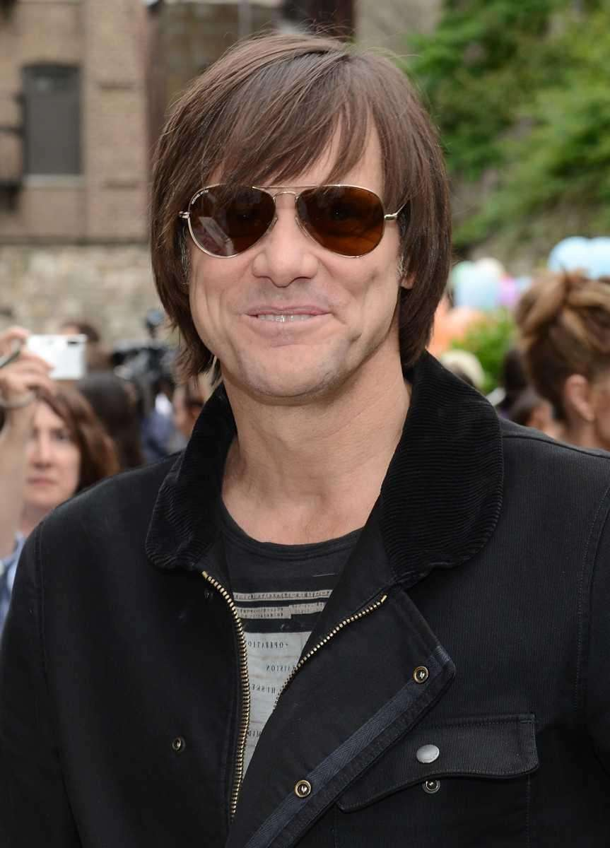 Jim Carrey was among many guest stars on
