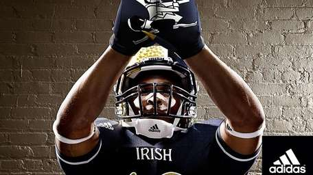 A new uniform that Notre Dame will ware