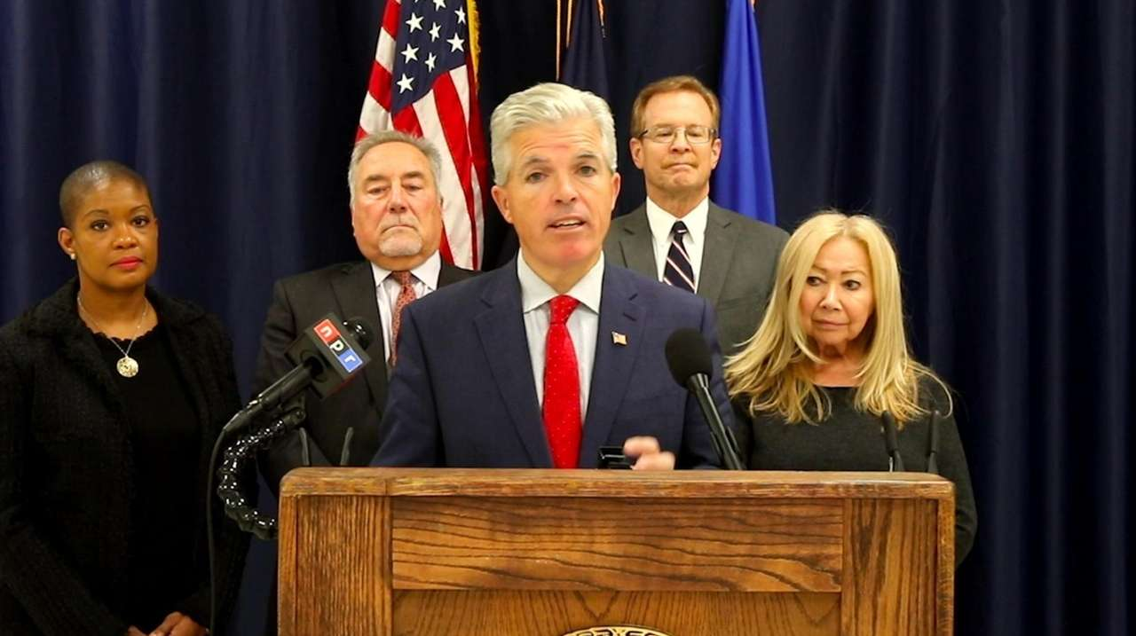 On Tuesday Suffolk County Executive Steve Bellone released