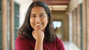 William Floyd High School senior Farihah Chowdhury earned a