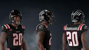 A look at the uniforms for the XFL's