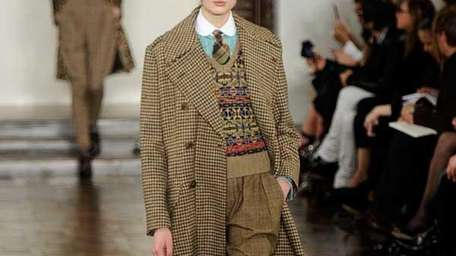 Ralph Lauren Fall 2012 fashion show (Frazer Harrison/Getty