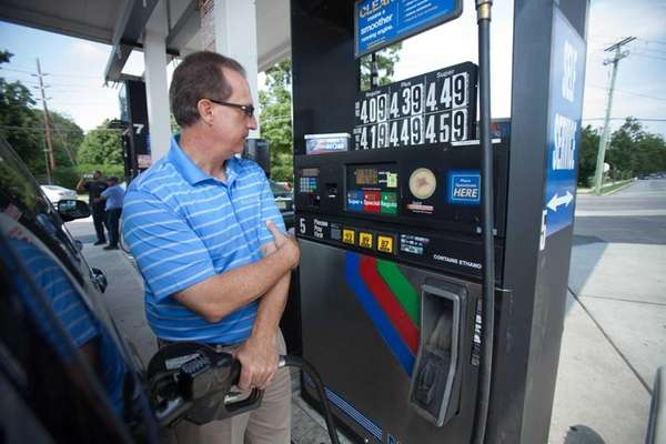 AAA says regular gasoline on Long Island is