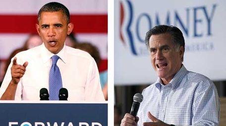 President Barack Obama and Mitt Romney (Getty Images)