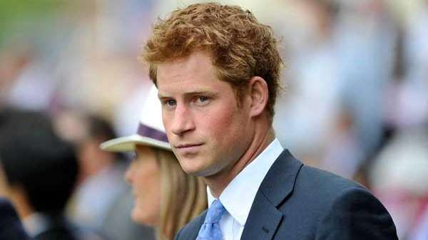 A file photo of Prince Harry.