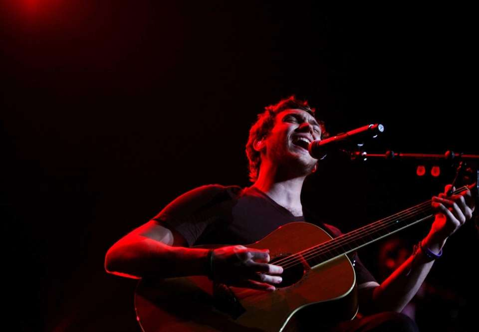"Reigning ""American Idol"" Phillip Phillips performs during the"