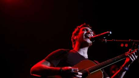"""Reigning """"American Idol"""" Phillip Phillips performs during the"""