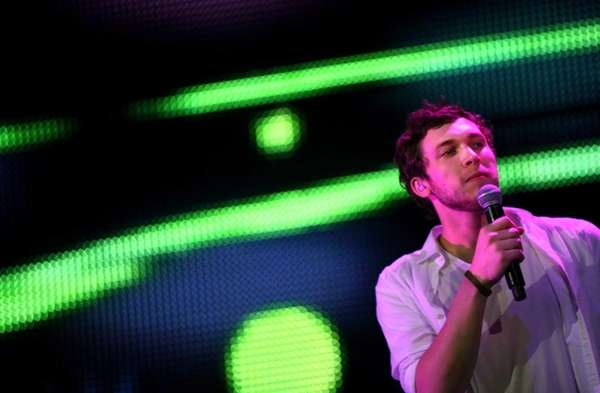 Phillip Phillips performs during the