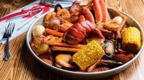 Cajun seafood restaurants, such as Hook & Reel
