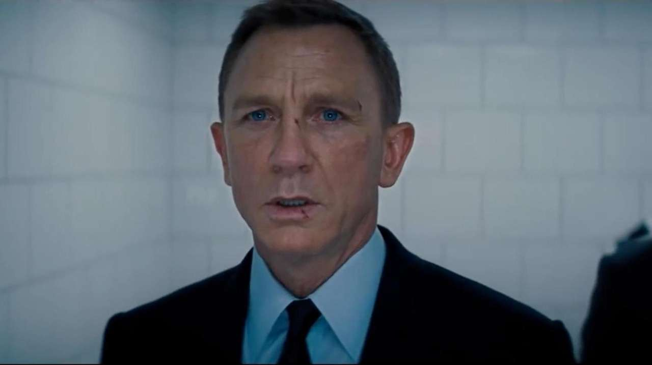 Daniel Craig is back as Agent 007 in