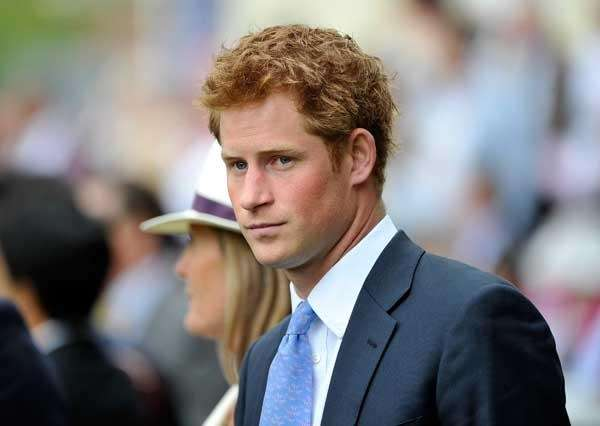 An undated photo of Prince Harry.