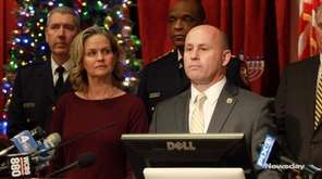 Nassau County officials on Wednesday announced that they