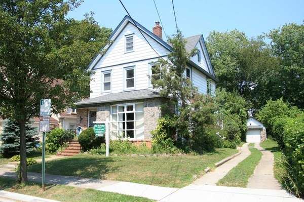 This home on Jefferson Avenue in Lynbrook, which