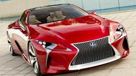 The Lexus LF-LC concept.