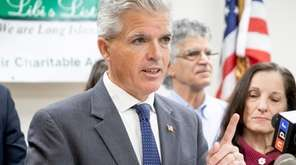Suffolk County Executive Steve Bellone is scheduled to