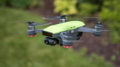 DJI Spark camera drone travels well and is